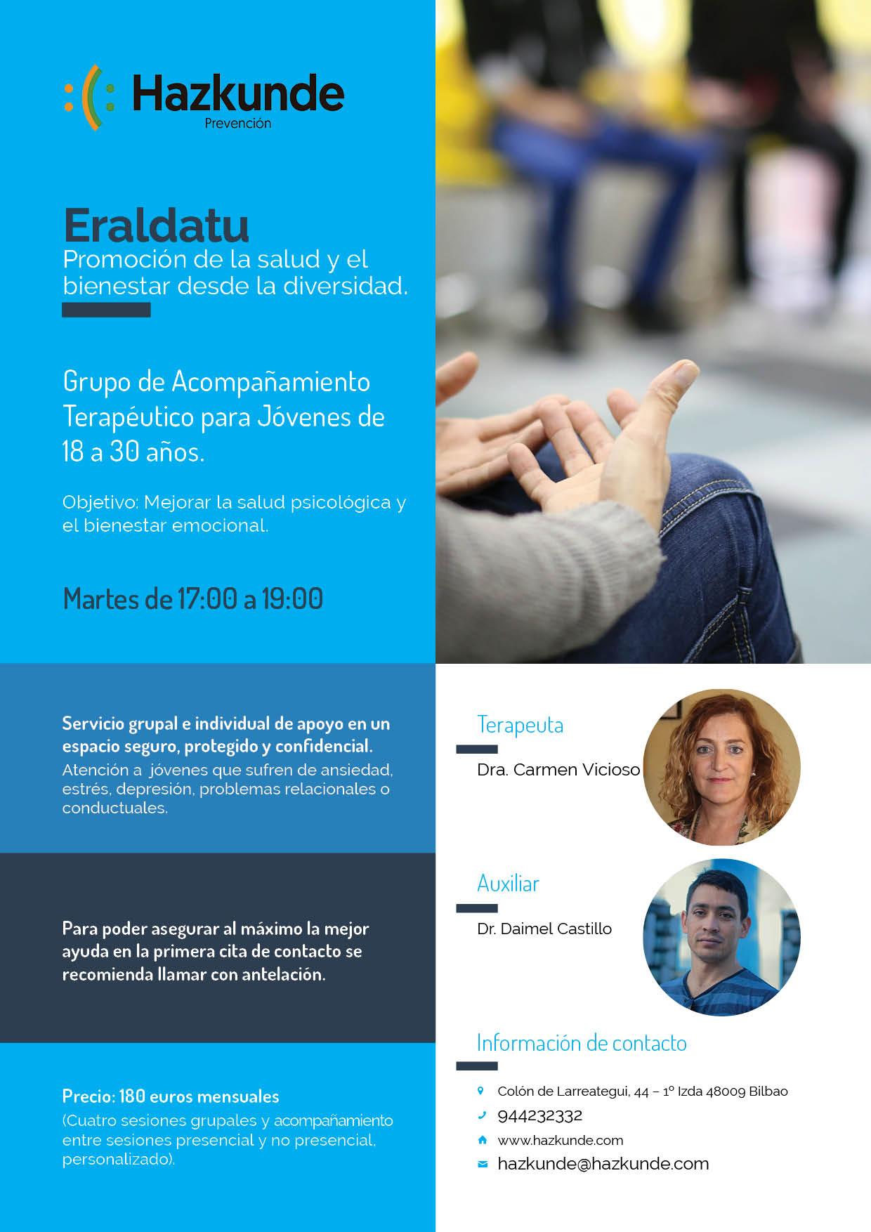 ERALDATU: Promoción de la salud y el bienestar desde la diversidad